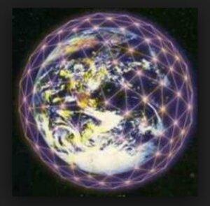 кристаллическая сеть земли