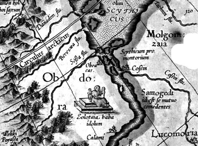 карта Злата баба