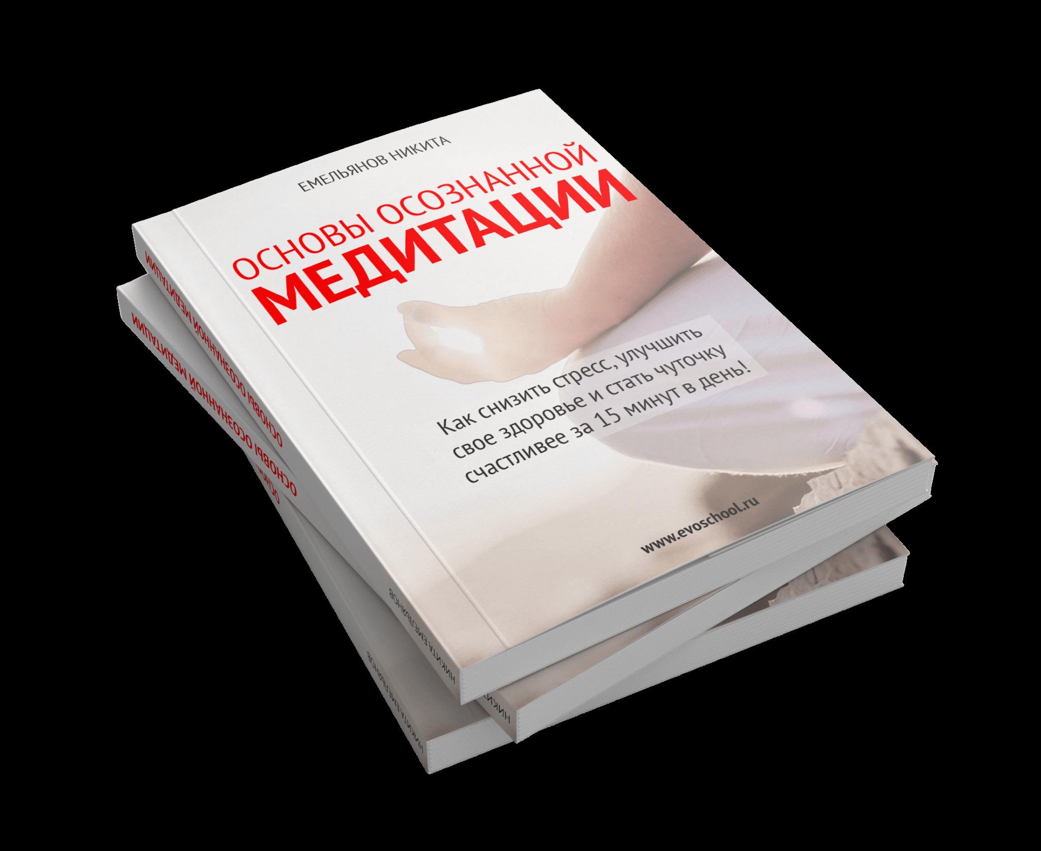 Книга основы осознанной медитации