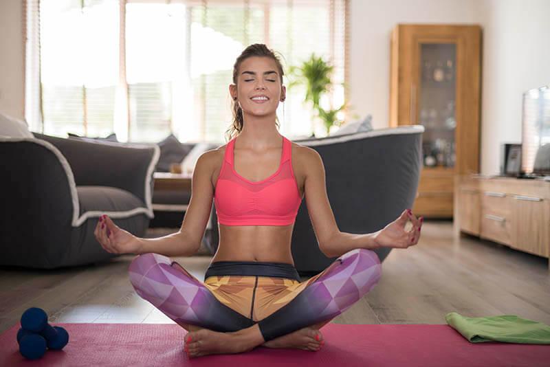 как медитация меняет жизнь девушки