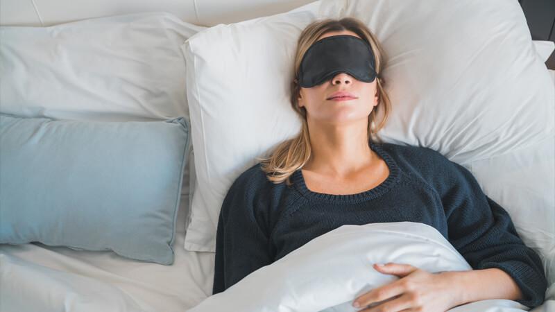 девушка спит с пользой